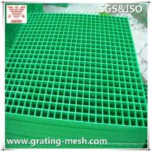 Rejilla moldeada GRP / FRP de carga pesada para pasarela