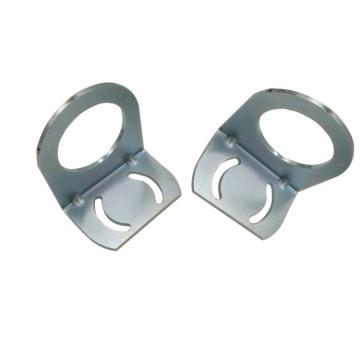 Emboutissage métallique personnalisé petits supports en forme de L