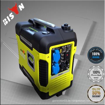 BISON China Taizhou 2kw AC Einphasen-Heimgebrauch Konstante Digital Inverter Generator EV20I