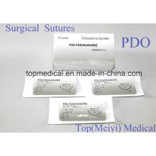 Chirurgische Naht mit Nadel - Polydioxanon