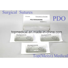 Sutura quirúrgica con aguja - Polidioxanona