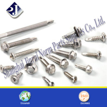 Hex Self Drilling Screw with Flange Side