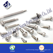 Neoprene Washer Hex Self Drilling Screw