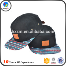 Printting Letters 5Panel Snap Back Hat