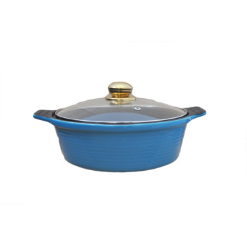Ceramic Non-Stick Casserole with Glass Lid