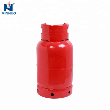 Dominica garrafa 12,5 kg cilindro de gás vazio