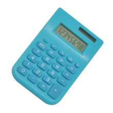 Calculadora de bolso de 8 dígitos Mini Dual Power