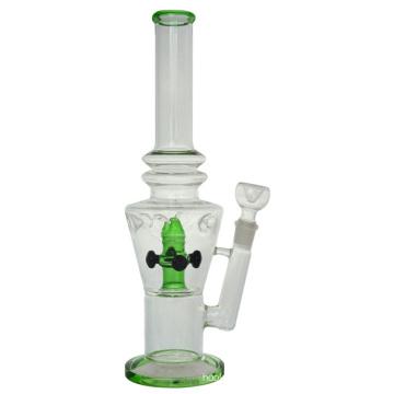 Neue Stemless 4 Shwerheads Hookah Glas Rauchen Wasser Rohr (ES-GB-425)