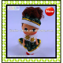 2011 new style plastic mini doll,vinyl small doll