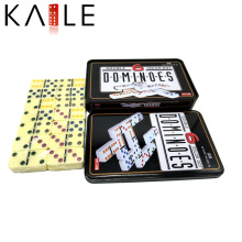 Kaile Factory ivory color domino with Tin Box