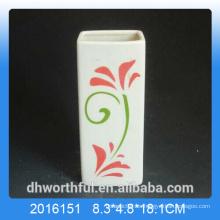 Humidificador de aire de cerámica promocional con estatuilla de flores