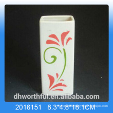 Promotional ceramic air humidifier with flower figurine