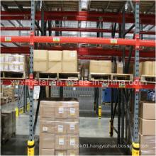Pallet Storage Rack Bay with Metar Steel or Plastic Bumpers