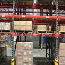 Pallet Storage Rack Bay com Metar Steel ou Plastic Bumpers