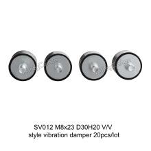 Pièces de haute qualité en caoutchouc amortisseur amortisseur M8x23mm D30H20