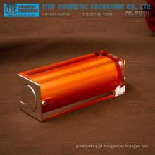 ZB-PK15 15ml cor personalizável cristalinas camadas dobro quadrado frasco mal ventilado para óleo essencial