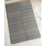Easy Install-Interlocking and Low Maintenance WPC DIY Tiles
