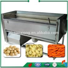 Máquina de procesamiento de alimentos de acero inoxidable Máquina de pelado de patatas