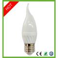 Bombilla de LED vela E14 6W Ce