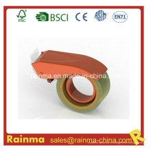 Orange Blue 65mm de ancho de embalaje de sellado cinta adhesiva cortador dispensador