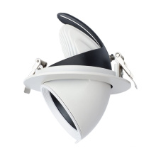 Supermarket Lighting COB Round Dimmable Indoor Led Downlight