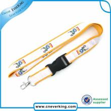 Nuevo diseño popular cordón de cinta de satén cuello