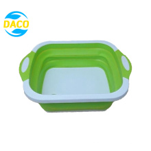 2 in 1 Collapsible Plastic Multi-Function Cutting Board
