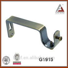 G1915 Curtain Rail Bracket/ceiling wall bracket/metal curtain rod bracket 19mm