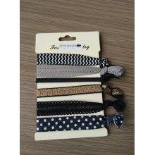 Multi Rows&Multi Color Hair Tie