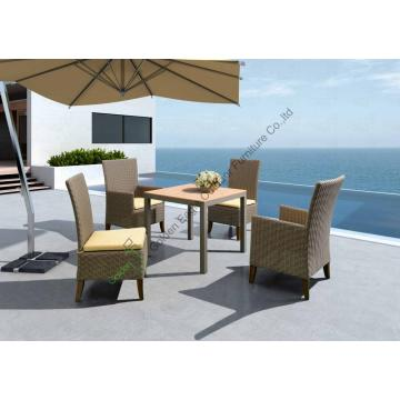 outdoor furniture Plastic wood table
