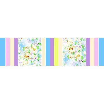 100% Cotton Pigment Printed Plain Fabric 78x65 100x80 128x68