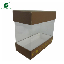 Top and Bottom Gift Box with Clear Window