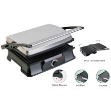 4-Slice Press Grill Panini Maker Healthy Grill Parrillas bajas en grasa