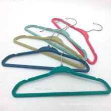 HH бренд SH2817 горячей продажи бархата стекались дети вешалка для одежды, оптовая пластиковые дети / ребенка пальто вешалка