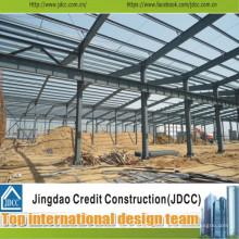 Construção de Worshop de estrutura de aço de baixo custo e alta Qualtiy Jdcc1050