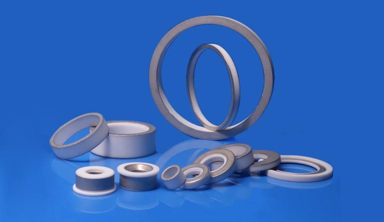 Metallized Alumina Ceramic Ring