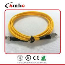 Singlemode G.652 Fiber Patch Cord SMA FC En Redes de Telecomunicaciones