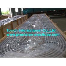 Tubulação de aço inoxidável de dobra U SA213