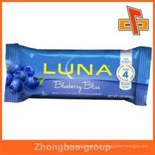 Alta qualidade centro selo nutricionais chocolate bar sacola bolsa de embalagem