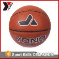 Equipo de entrenamiento de baloncesto al por mayor de fábrica de YONO tamaño colorido 2 3 5 6 7 baloncesto de goma personalizado para entrenamiento de baloncesto