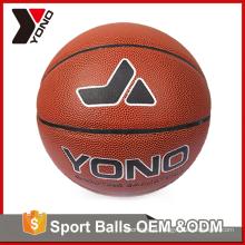 YONO atacado fábrica de equipamentos de treinamento de basquete colorido tamanho 2 3 5 6 7 de borracha de basquete personalizado para treinamento de basquete