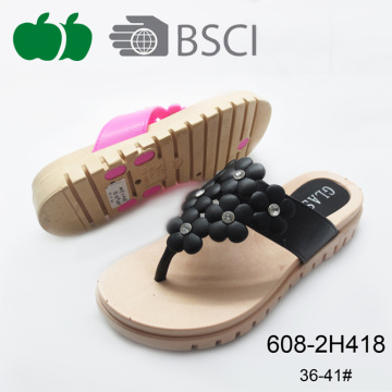 2017 Good Selling Soft Beautiful Fashion Female Slippers