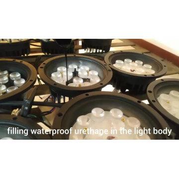 A prueba de agua LED abajo luz paisaje bajo tierra