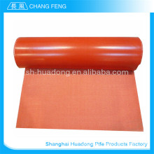 Excellent aging resistance fiberglass silicone rubber coated fabric