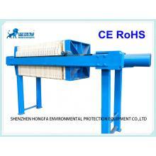 Filtre-presse hydraulique de capacité moyenne de 140 m2
