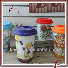 Taza de café de cerámica de la porcelana del hotel al por mayor