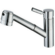 Spring Single Handle Kitchen Faucet with Brass