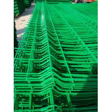 High quality curvy welded wire mesh fencing