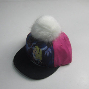 New Arrival Lovely Pompom Snapback Cap