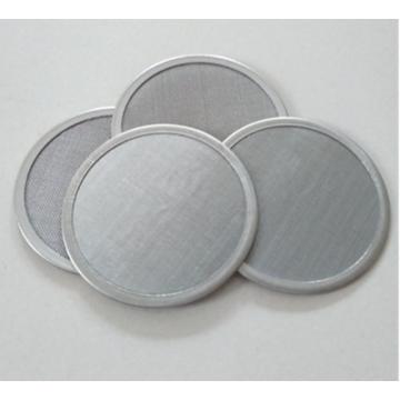 Sintered stainless steel wire mesh filter round disc